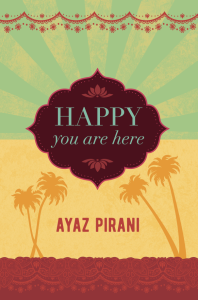 HAPPY YOU ARE HERE front cover for promo
